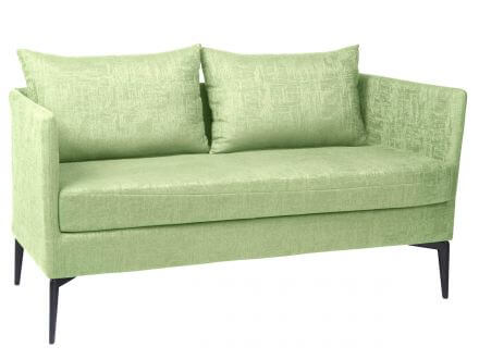 Stern Marta 2-Sitzer Sofa Alu anthrazit Outdoorstoff