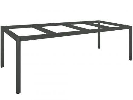 Vorschau: Stern Tischgestell Aluminium Vierkantrohr 250x100cm anthrazit