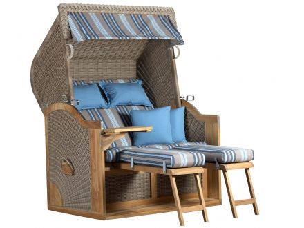 strandkorb pure nautic xl rugbyclubeemland. Black Bedroom Furniture Sets. Home Design Ideas