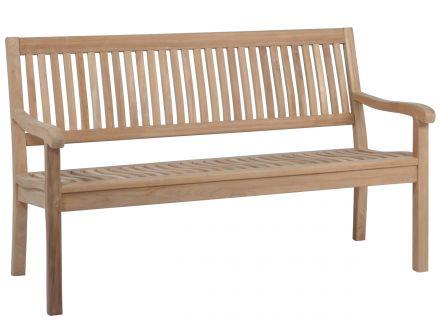 Vorschau: Teakholz Gartenbank Coral 3-Sitzer