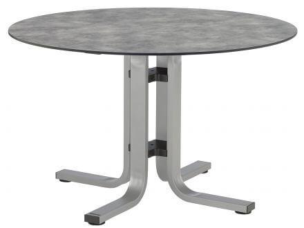 Kettler HPL Dining-Tisch Ø120cm silber/anthrazit