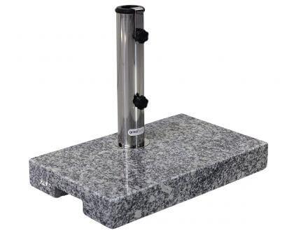 gardissimo Balkonschirmständer 20kg Granit grau