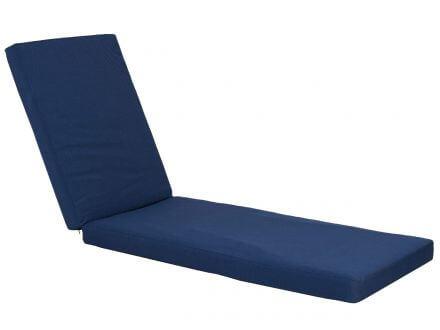 Lünse XL Liegenauflage Malibu Comfort denim-blue