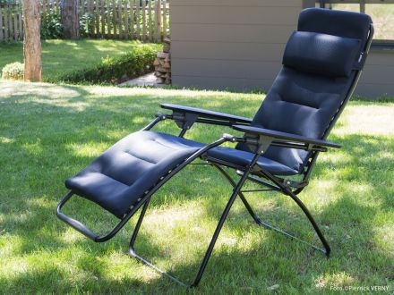 Gut Simple Vorschau Futura Air Comfort Acier Im Garten With Lafuma Relaxliege