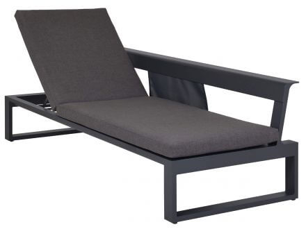 Vorschau: Lünse Multifunktionale Alu Lounge Liege Ventura links