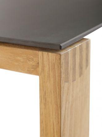 Vorschau: Detailbild Solpuri Gartentisch Safari mit Keramik-Tischplatte