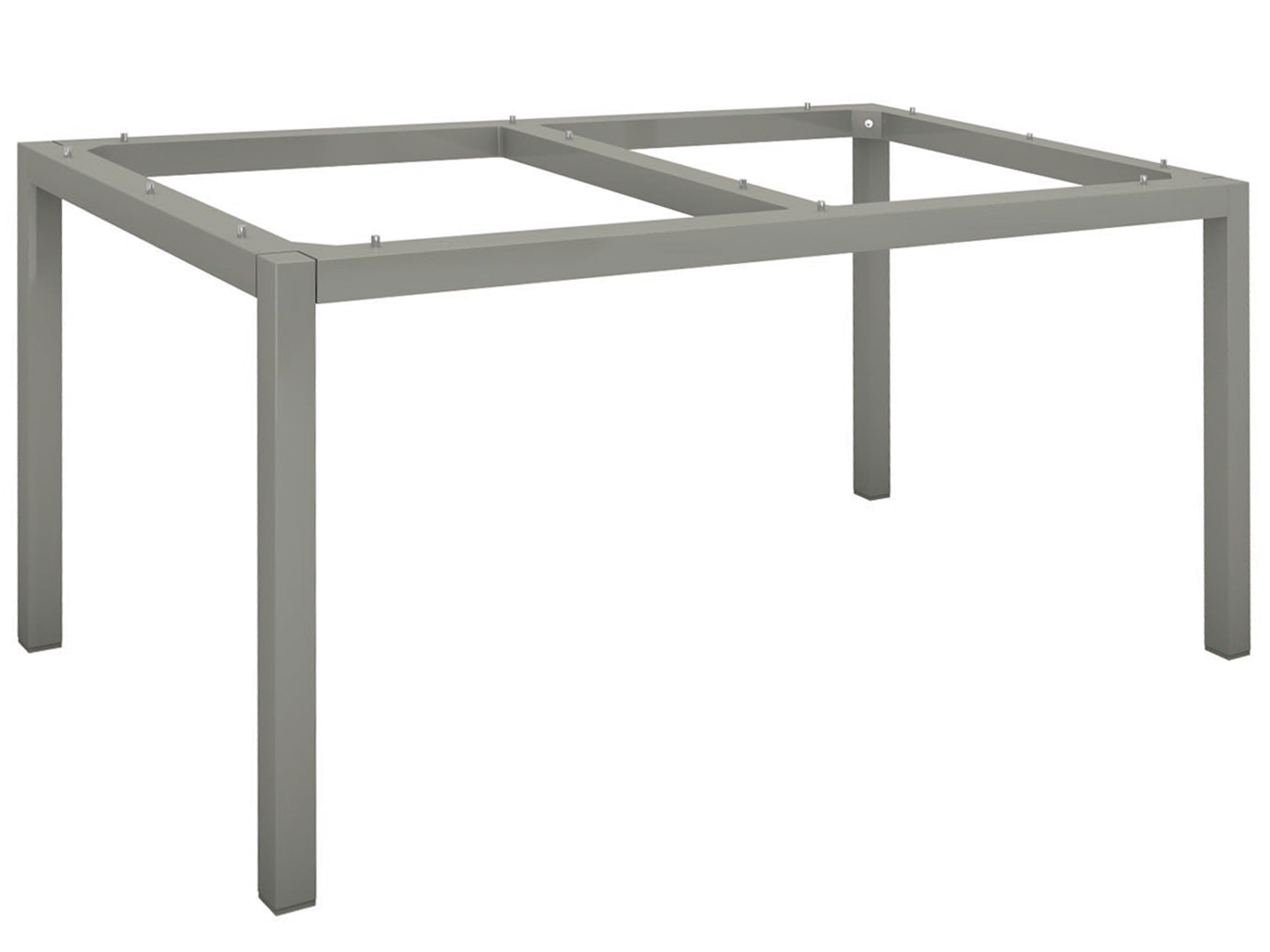 STERN Gartentisch 160x90cm Aluminium graphit Silverstar 2.0 Tundra grau