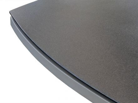 Vorschau: Dreieck Gartentisch Altona 170x170x170cm light-grey