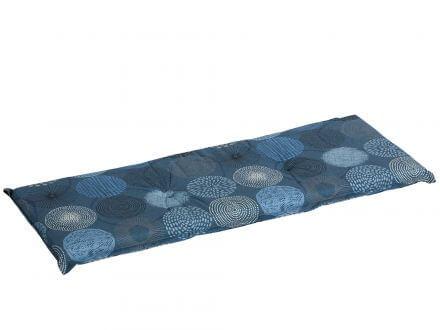 Madison Gartenbank Auflage Fantasy Blue 150cm