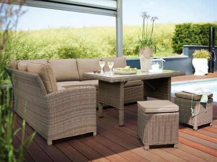 Vorschau: Kettler Marbella Casual-Dining Lounge Stimmungsbild