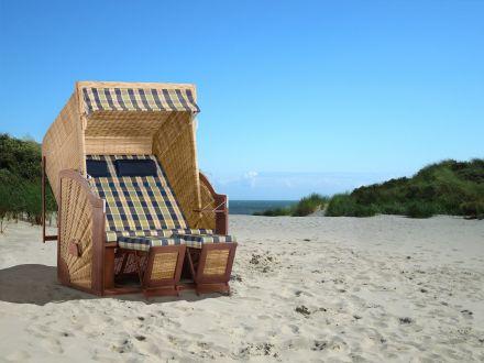 Vorschau: Ostsee Strandkorb XL Ambientebild