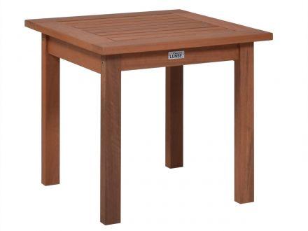 Lünse Holz Beistelltisch Augsburg 50x50cm