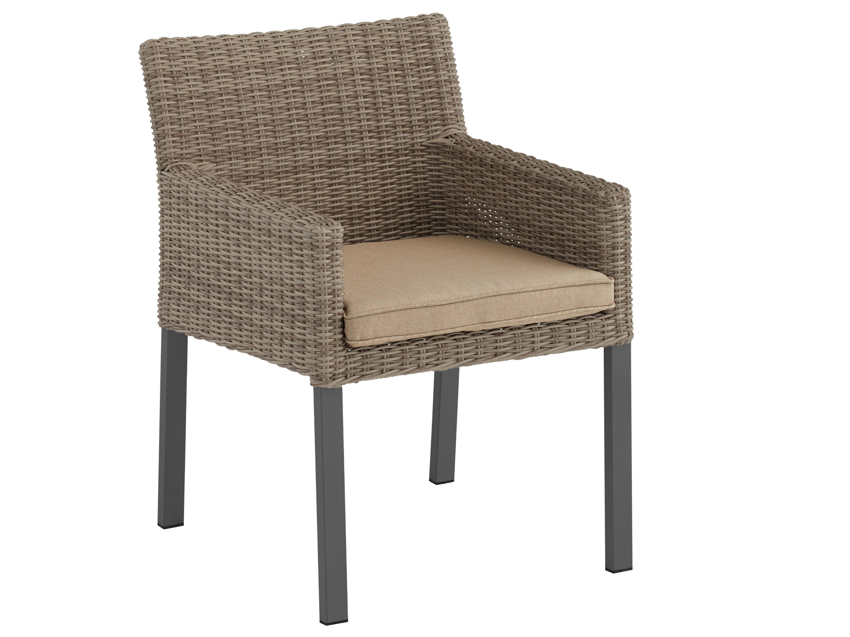 kettler bretagne dining sessel anthrazit champagner gartenm bel l nse. Black Bedroom Furniture Sets. Home Design Ideas