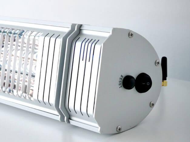 Infrarot-Heizstrahler Appino 20 Silver Detailbild