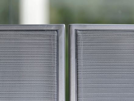 Vorschau: Stern Skelby Lounge-Seitenelement links Alu mit Textilenbezug