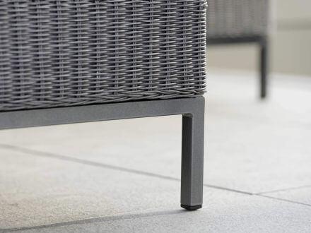 Vorschau: Fontana Lounge Untergestell für 2-Sitzer-Sofa