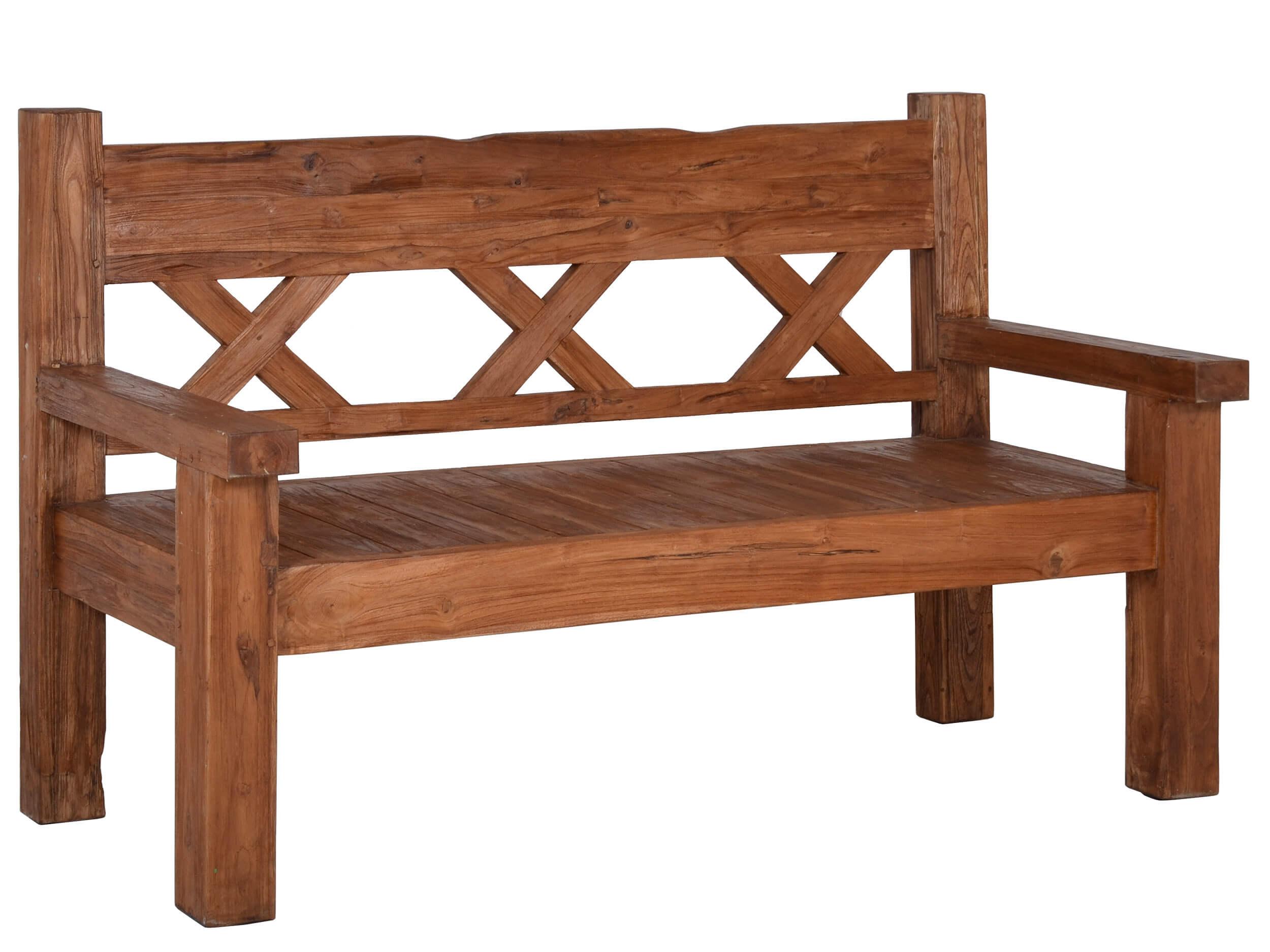 antik teakholz gartenbank gigant 160cm 3 sitzer gartenm bel l nse. Black Bedroom Furniture Sets. Home Design Ideas