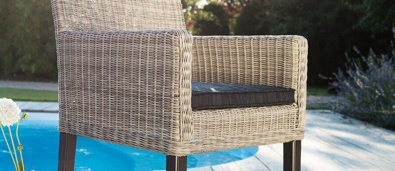 Sitzkissen für Gartenstühle