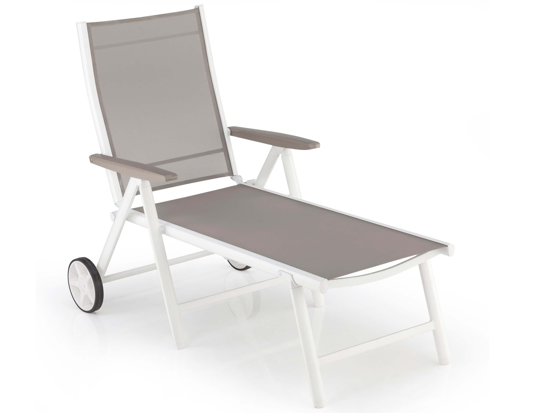kettler vista rollliege wei beach grey gartenm bel l nse. Black Bedroom Furniture Sets. Home Design Ideas