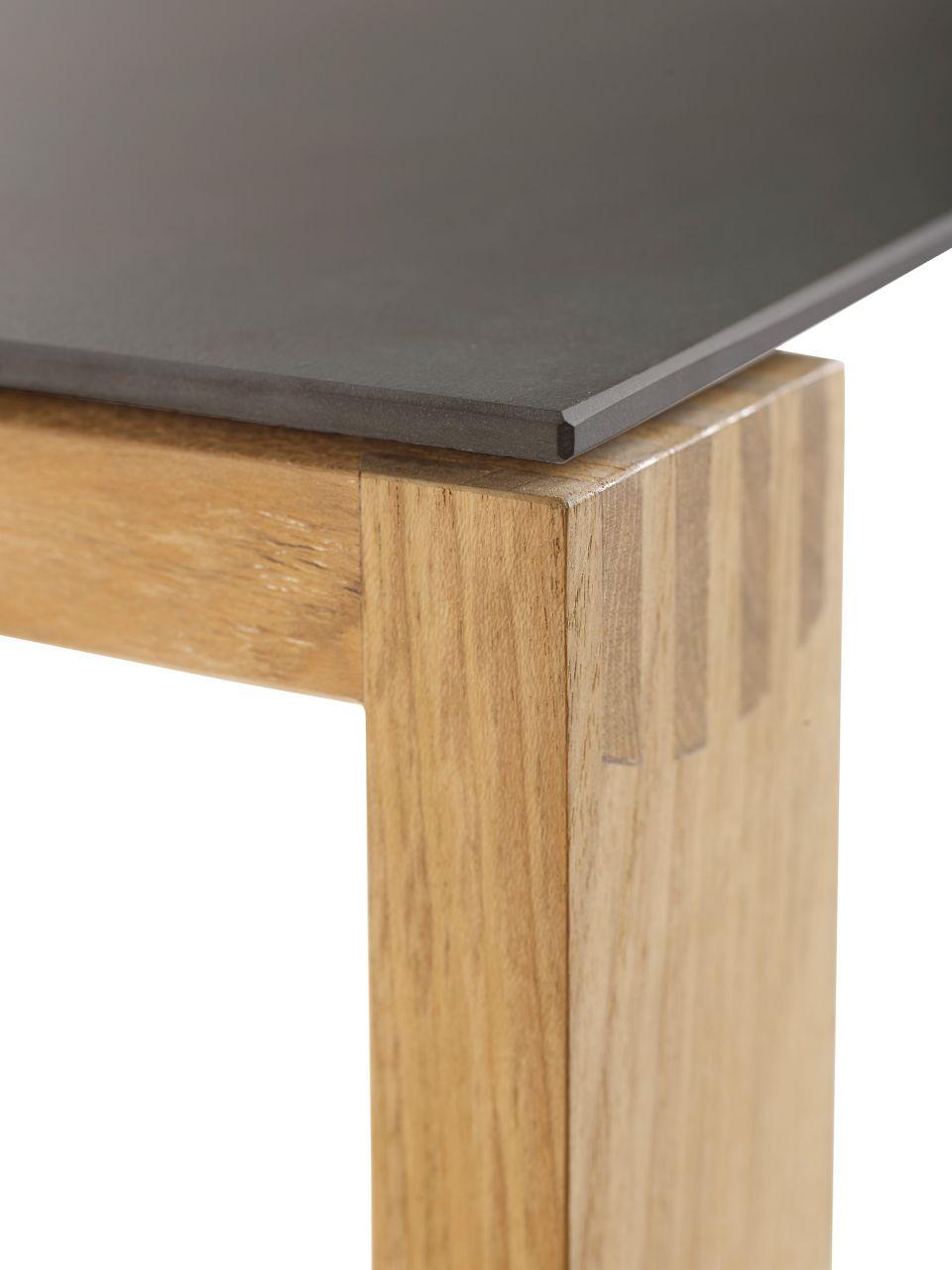 Detailbild Solpuri Gartentisch Safari mit Keramik-Tischplatte