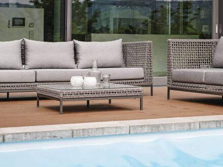 Vorschau: Stern Fontana Corda Lounge Glasplatte für Beistelltisch|Hocker