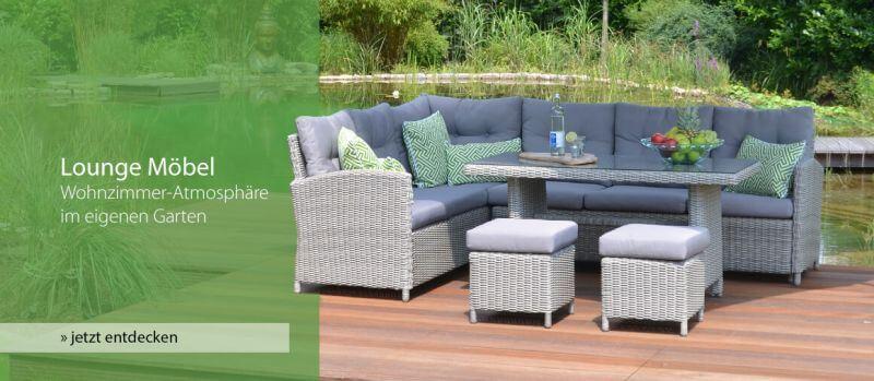 lounge mbel wohnzimmer atmosphre im eigenen garten jetzt entdecken - Einfache Dekoration Und Mobel Gartenmoebel Fuer Die Neue Saison