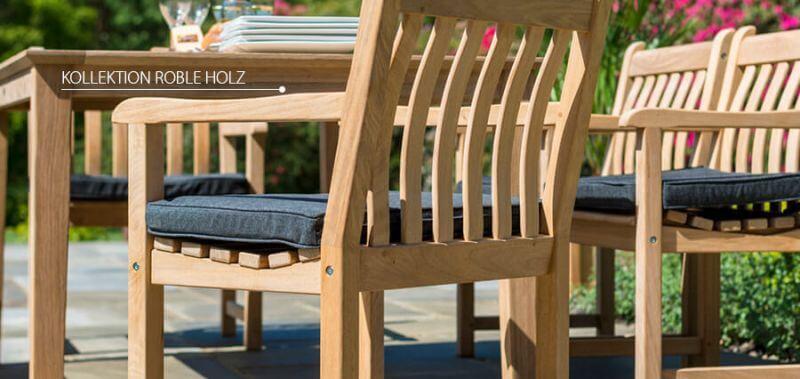 Die hochwertige Roble Holz Kollektion von Alexander Rose - jetzt entdecken