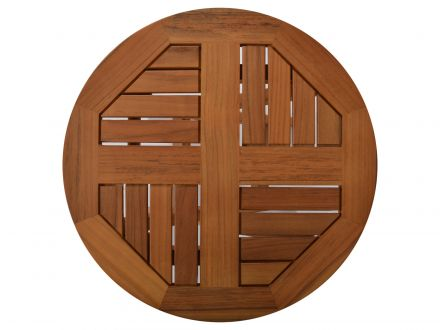 Vorschau: Tischplatte elegant in 4 Segmente geteilt