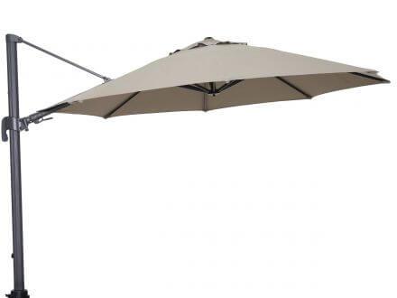 Vorschau: Ampelschirm Duraflex Parasol Ø360cm Taupe