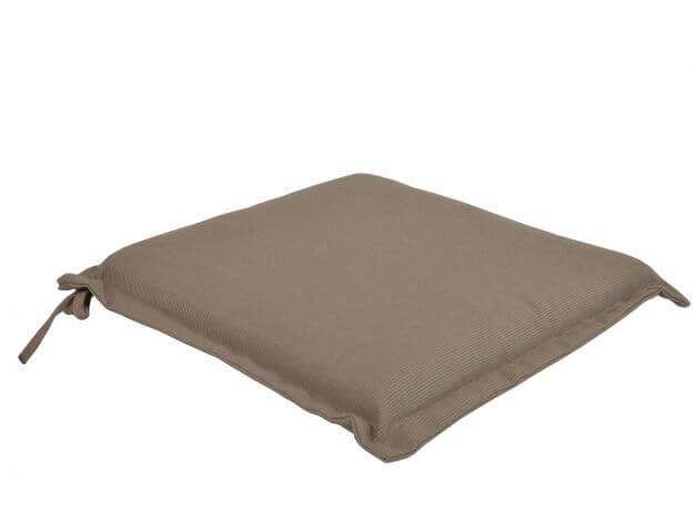 Sitzkissen für Gartenstühle Malibu 42x42cm sand