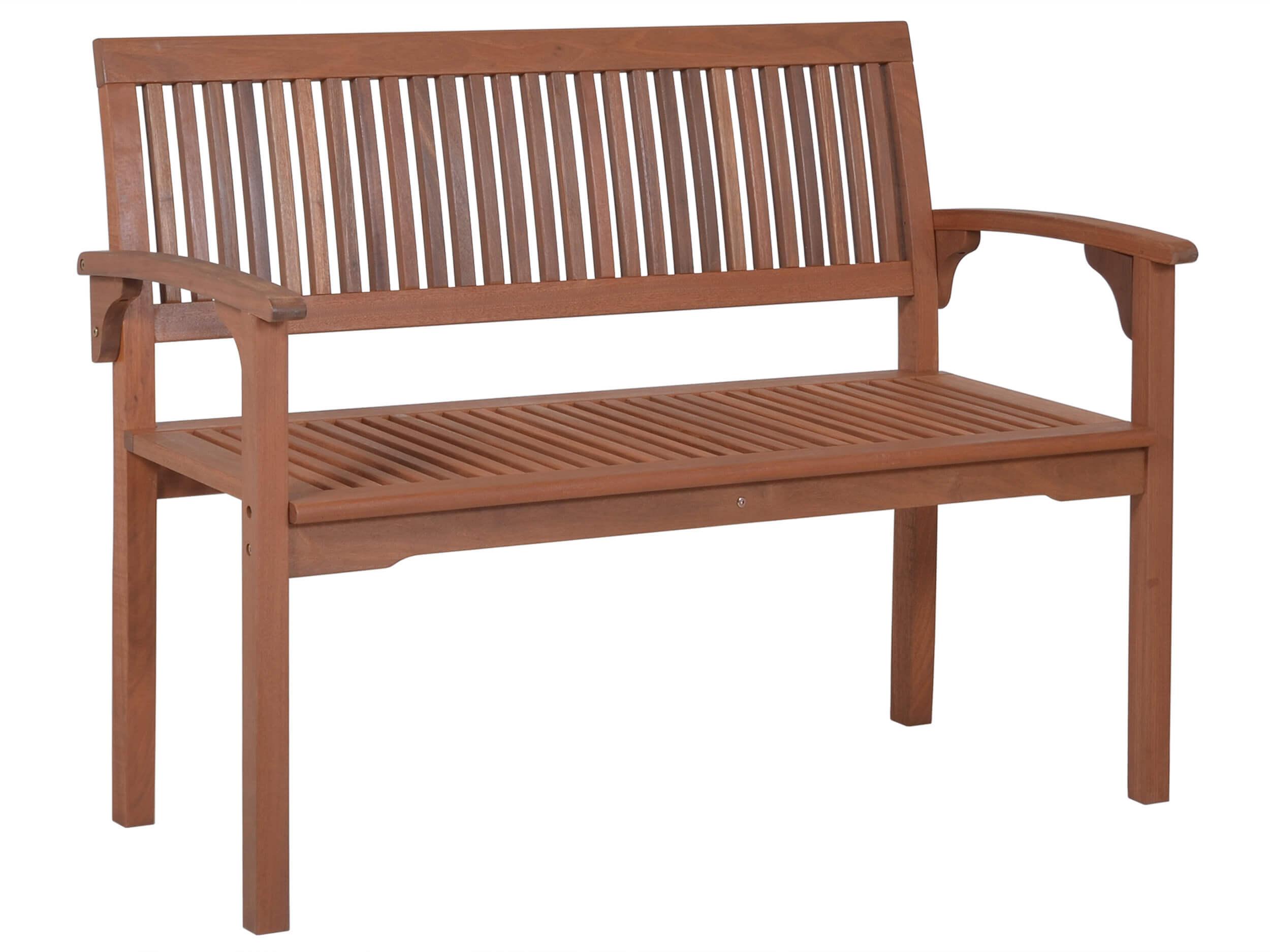 holzgartenbank osaka 120cm 2 sitzer gartenm bel l nse. Black Bedroom Furniture Sets. Home Design Ideas