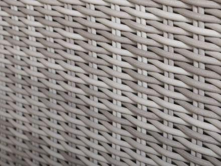 Vorschau: PE-Halbrundgeflecht white-grey