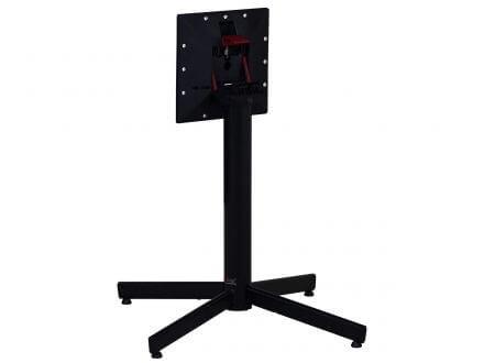 Vorschau: StableTable HPL Klapptisch FlipTop 80x80cm Gestell Black