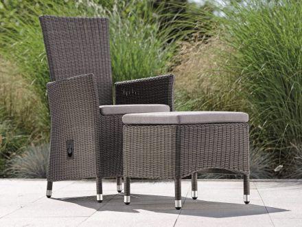 Vorschau: Sessel SORTINO verstellbar - Ambientebild (Hocker nicht im Lieferumfang)
