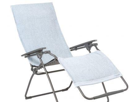 Lafuma Litoral Frotteeauflage für Relaxliege Embrun light grey