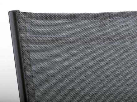 Vorschau: hochwertige Outdoorgewebe-Bespannung Farbe graphit