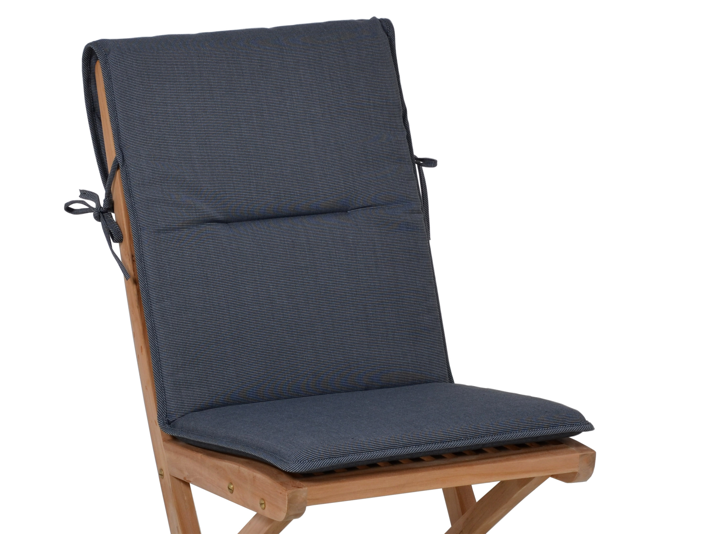 sitzauflage f r gartenst hle malibu grey gartenm bel l nse. Black Bedroom Furniture Sets. Home Design Ideas