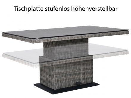 Vorschau: Lounge-Dining-Tisch, stufenlos höhenverstellbar