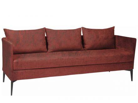 Stern Marta 3-Sitzer Sofa Alu anthrazit Outdoorstoff