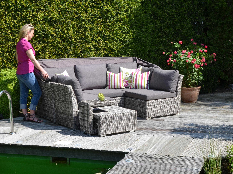 Modulare Lounge Garteninsel Daydream Gartenmöbel Lünse