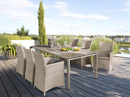 Vorschau: Dining-Sessel Maison sand / natur Ambientebild