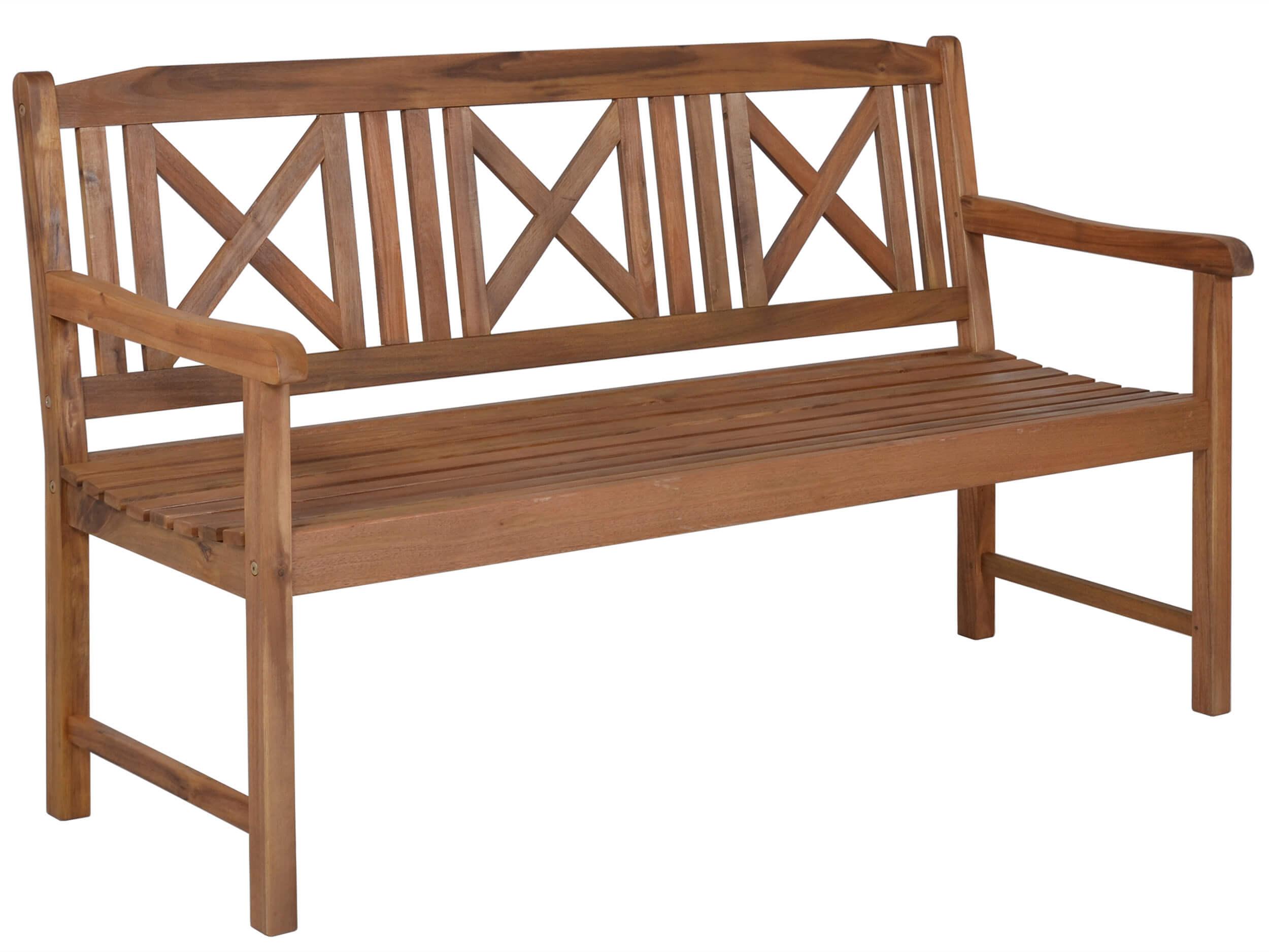 Holz 3 Sitzerbank Bali 158cm