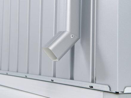 Biohort Zubehör Regenfallrohr-Set für Gerätehaus Panorama®