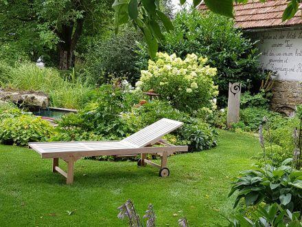 Vorschau: Lünse Teakholz Gartenliege Comfort