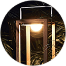 Suns Gartenleuchten bieten warmes LED Licht
