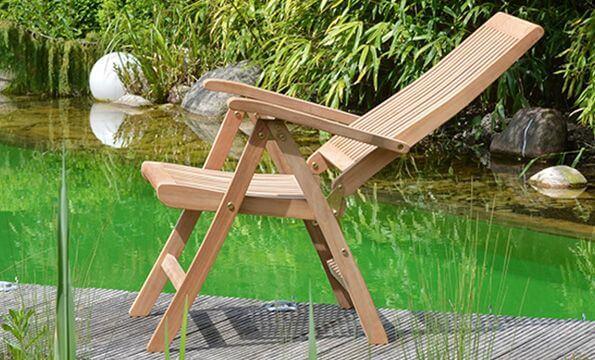 Teak Gartenstühle aus hochwertigem Teakholz