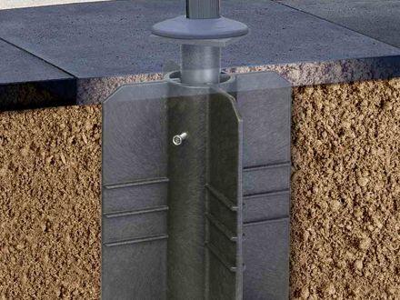 Vorschau: Zum eingraben, kein Beton benötigt