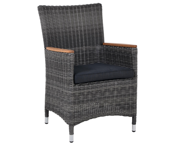 dining geflechtsessel sorento mink inkl sitzkissen gartenm bel l nse. Black Bedroom Furniture Sets. Home Design Ideas