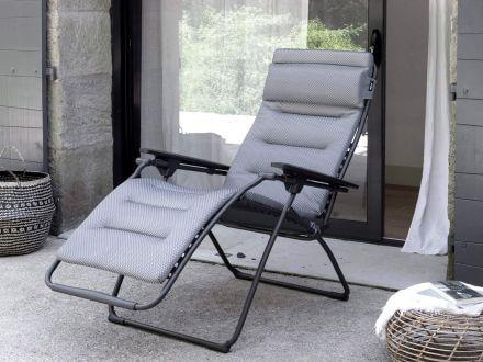 Vorschau: Lafuma Relaxliege Futura XL BeComfort® Silver