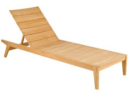 Alexander Rose Roble Holz Gartenliege Adjustable Sunbed Tivoli